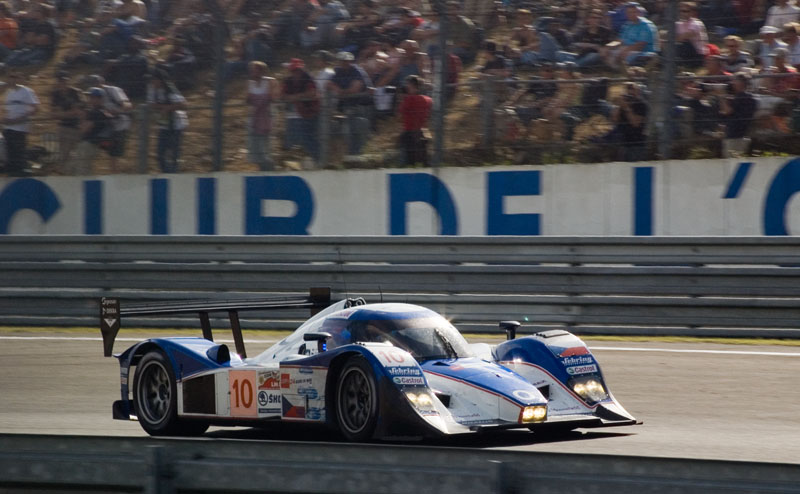 Aston powered LMP at Le Mans 2008