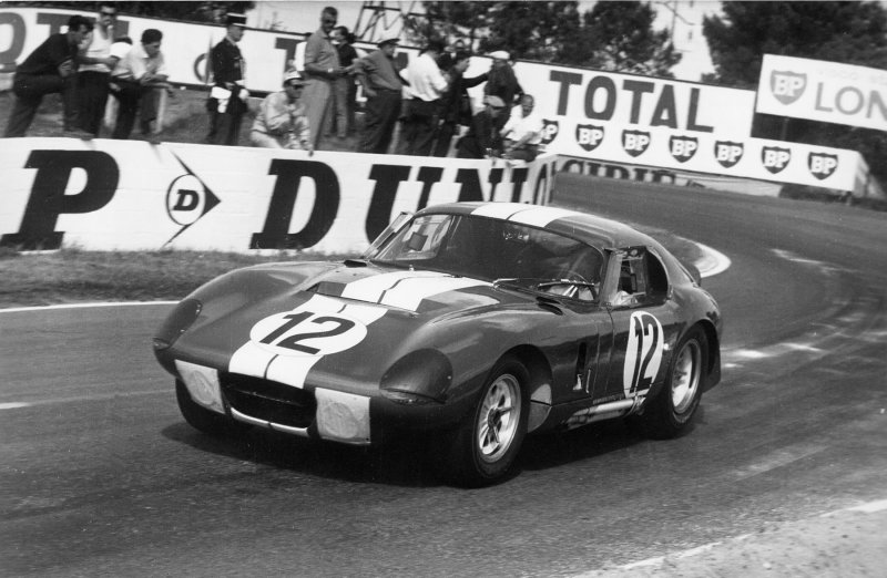 Ford backed AC Cobra Daytona at Le Mans