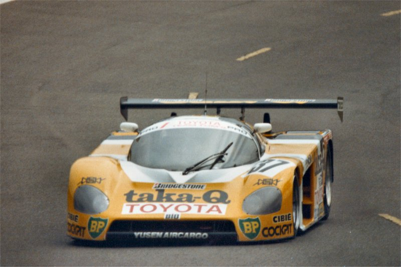Toyota at Le Mans.