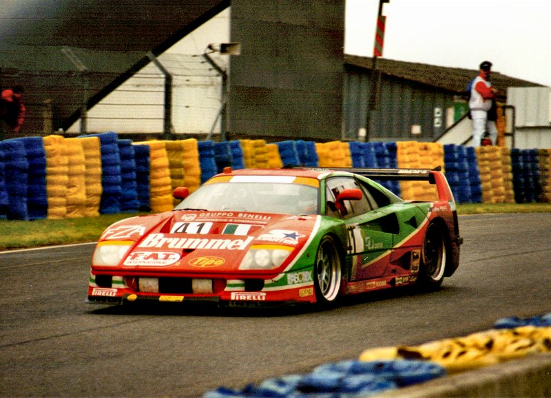 Totip Ferrari at Le Mans 1995