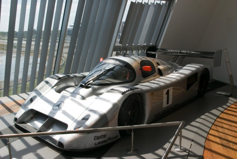 Mercedes C291 - the example at Mercedes World, Brooklands